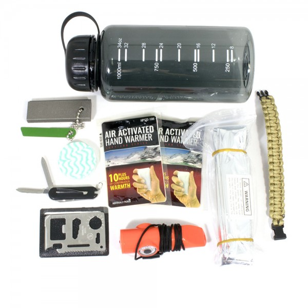30-in-1 Emergency/Camp Survival Pack