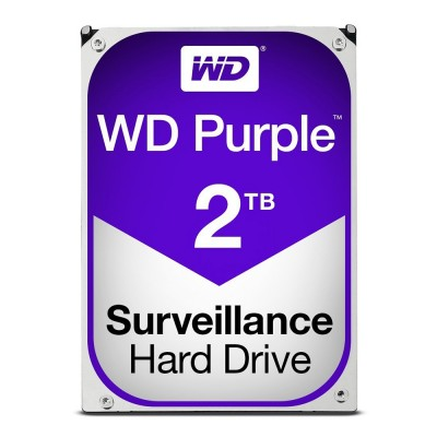 WD Western Digital Purple 2TB Surveillance OEM Internal Hard Drive - WD20PURZ